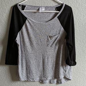 H&M Divided | Basic baseball T-shirt